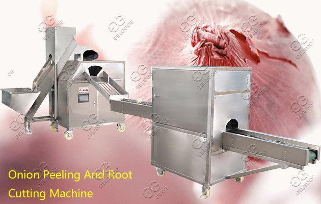 onion peeling cutter machine