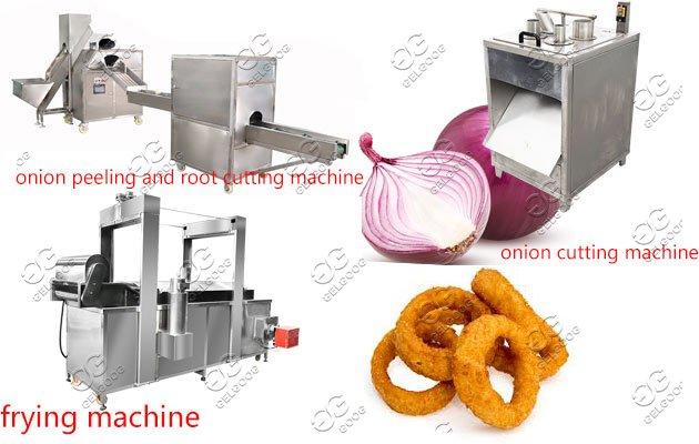 onion rings making machine line