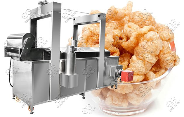 pork skin frying machine price