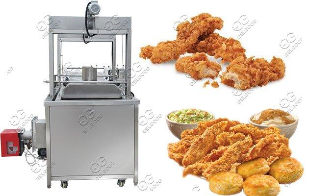fried chicken machine price