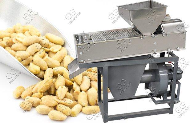 roasted peanuts peeling machine