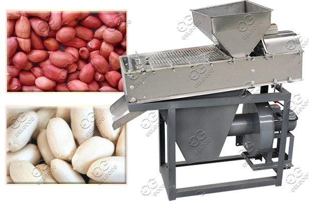 dry peanuts peeler equipment