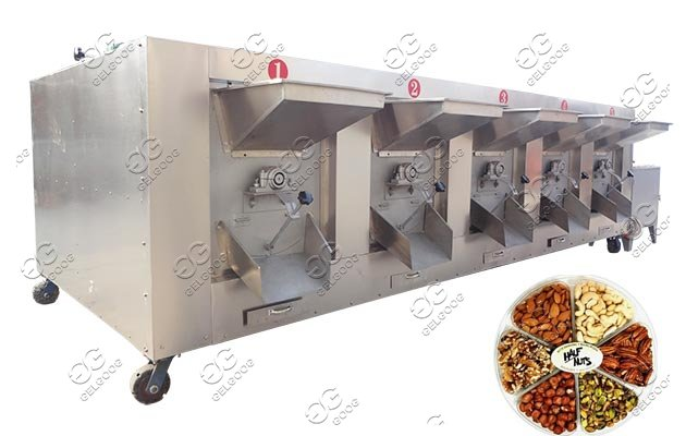 multipurpose nut roasting equipment