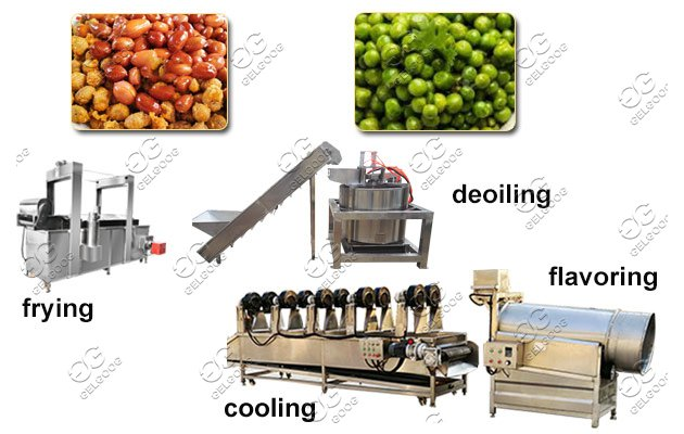 nut frying line for sale