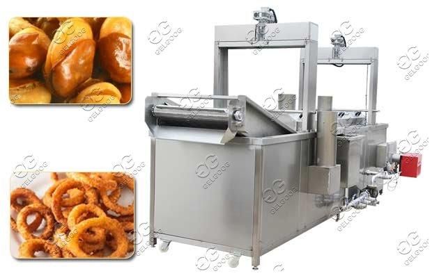 broadbeans frying machine manufacturer