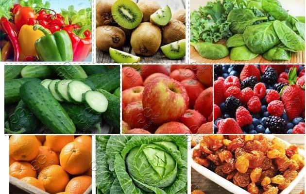 fruit vegeteble washing machine