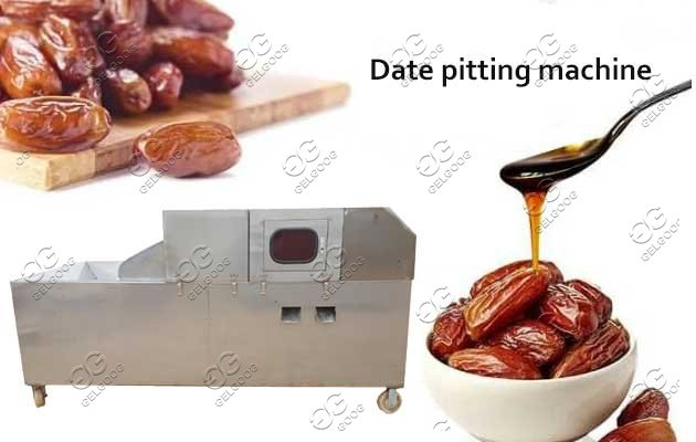 plam date pitting machine