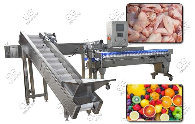 weight grading machine for fruit