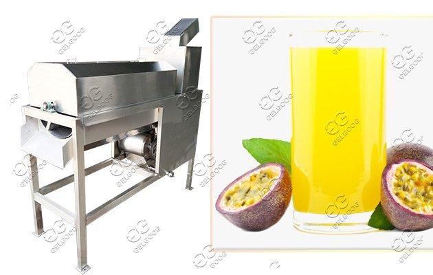 passion fruit juice making machine