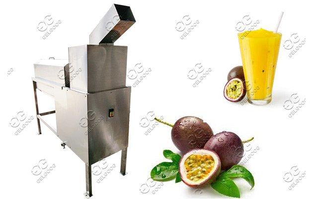 passion fruit pulping machine