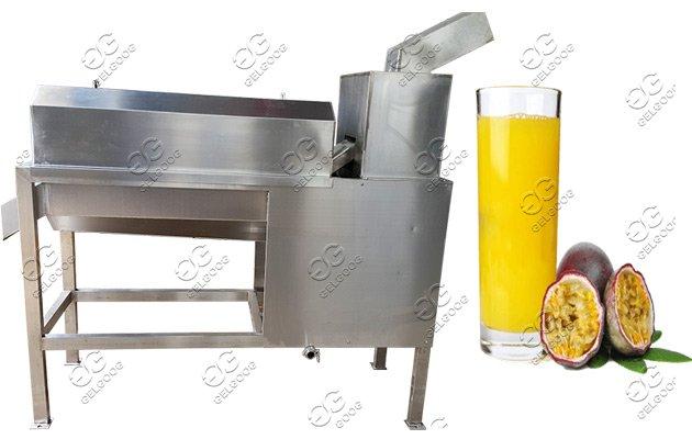 passion fruit juice extracting machine