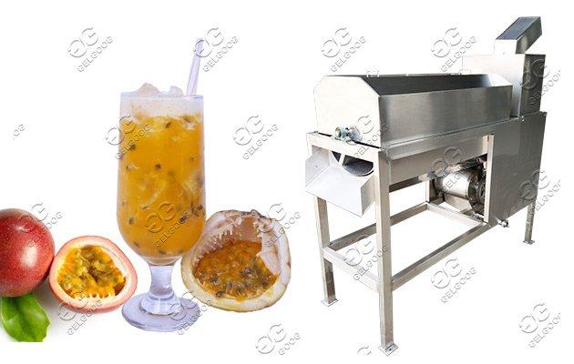 passion fruit juice processing machine