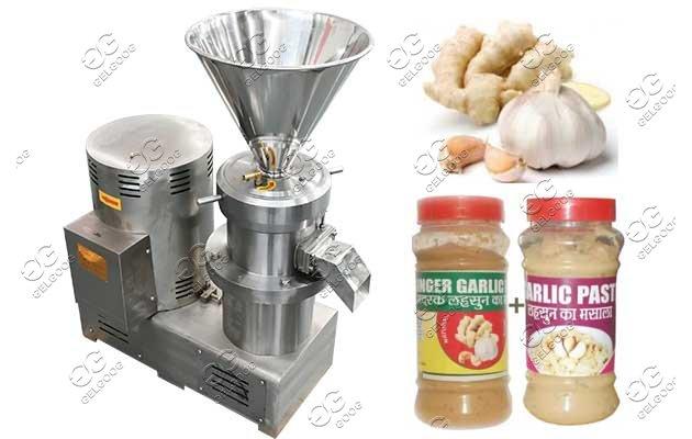 garlic sauce making machine