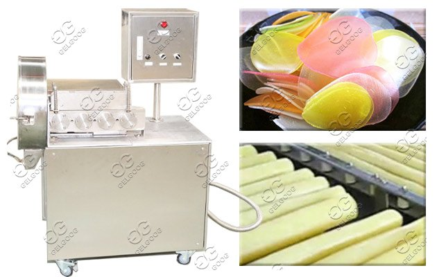prawn cracker slicing machine
