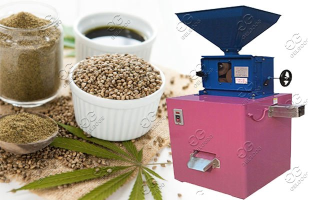 hemp seed shell removing machine