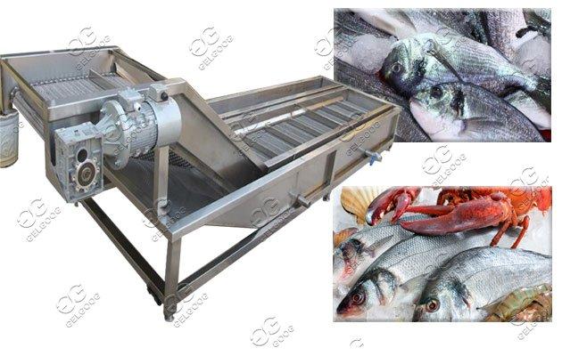 automatic fish ice glazing machine