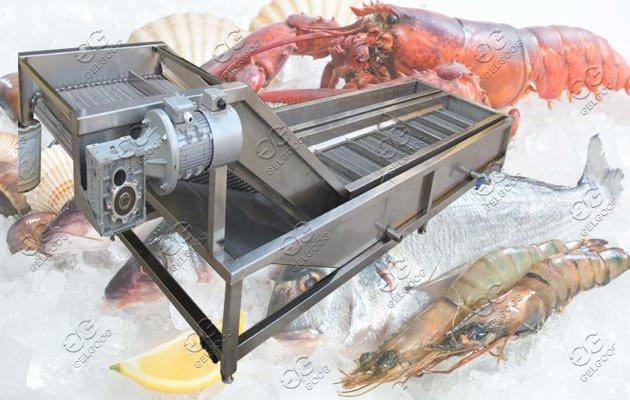 automatic seafood ice glazing machine