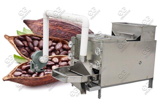 cocoa beans peeler machine