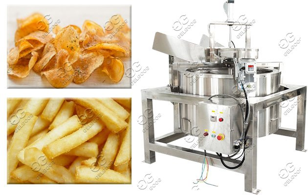automatic fried food de-watering machine