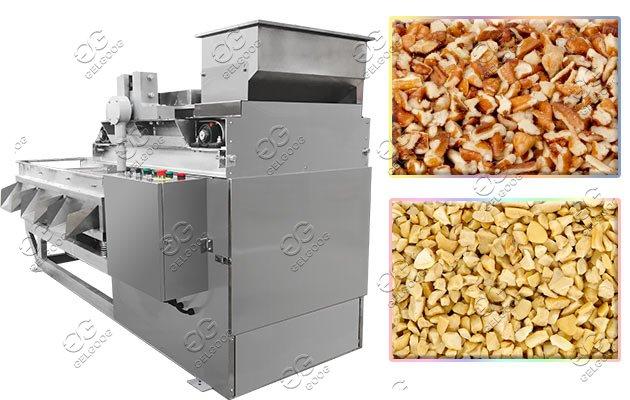 almond pieces cutting machine