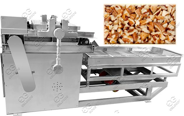dry nut chopping cutting machine