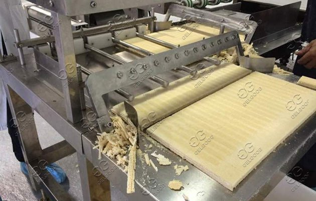 wafer biscuit processing line