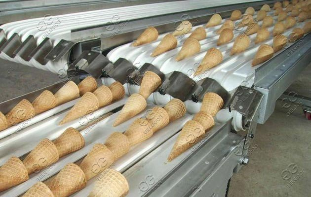 Ice Cream Cones Baking Machine