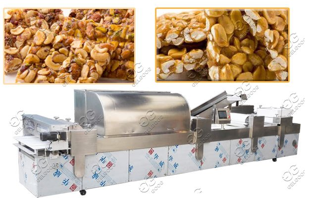 automatic peanut brittle making machine