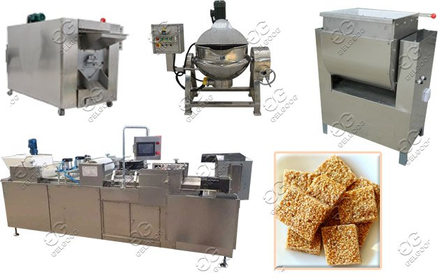 automatic sesame bar production line