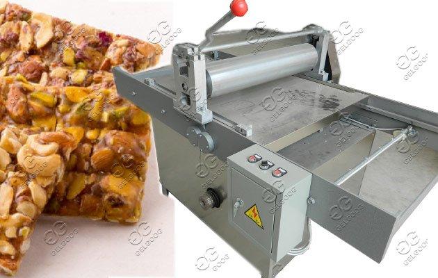 peanut brittle cutting machine