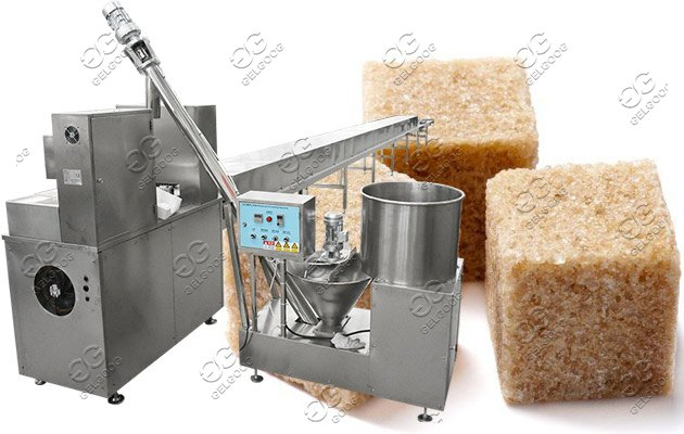 Sugar cubes machine