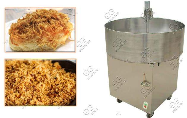 flat keel frying pan