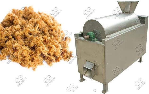 meat floss process machine