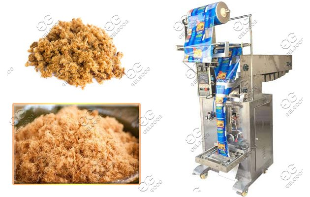 meat floss machine production