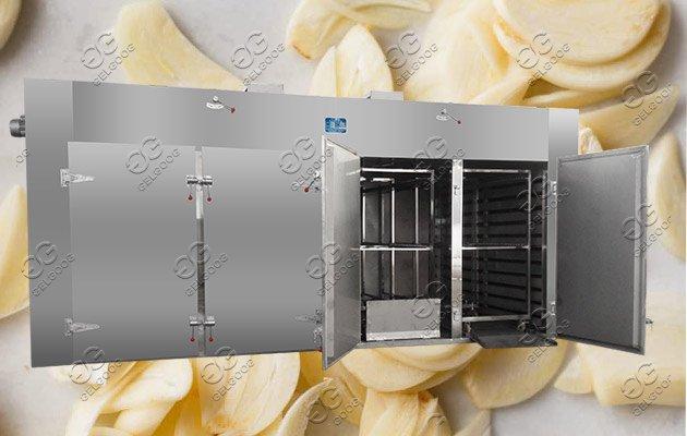 garlic chips dryer machine