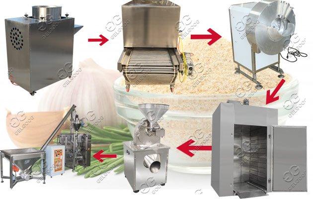 garlic powder production line