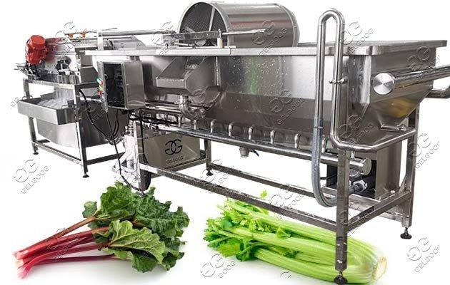 industrial fruit vegetable washer