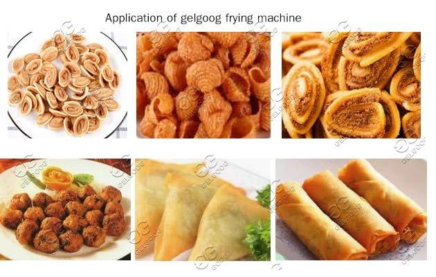 gelgoog automatic snack frying machine