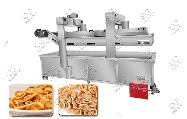 commmercial cat ear snack frying machine