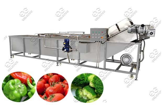 broccoli florets cleaning machine
