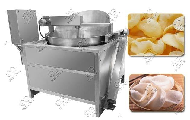 prawn cracker frying machine
