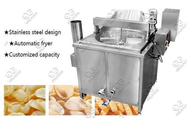 commercial prawn cracker fryer
