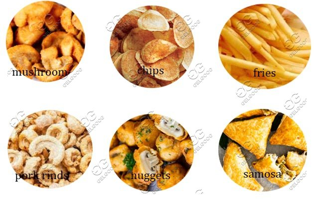 snack frying machine price