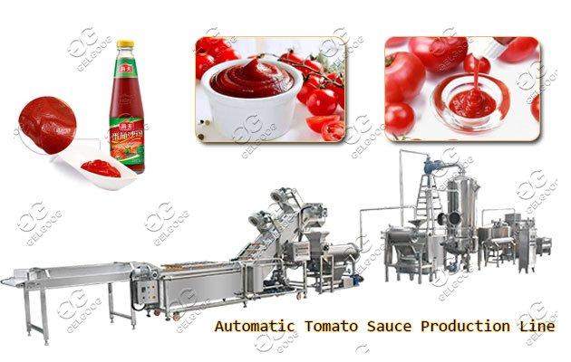 automatic tomato sauce production line
