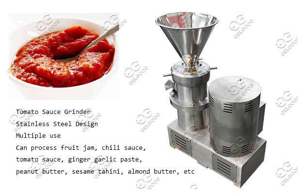 industrial tomato sauce grinder