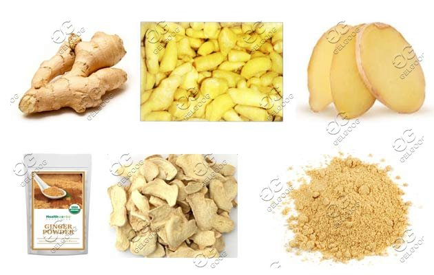 ginger powder production line