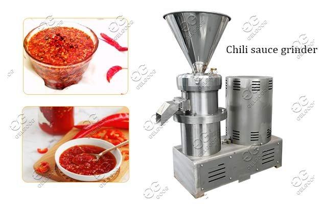 chili sauce grinder machine