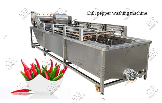 industrial chili pepper washing machine