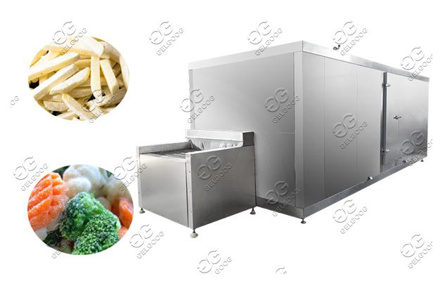 IQF quick freezing for vegetable