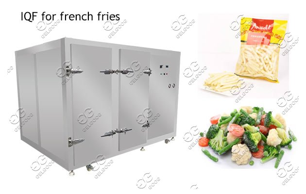 IQF freezer for french fries